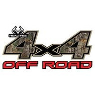 Sei/Realtree Camo RT-4X4-XT Decal Off-Rd Camo 6.25X13.25In