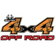 Sei/Realtree Camo RT-4X4-XTBLZ Decal Off-Rd Blaz 6.25X13.25In