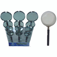 Diamond Visions MA-01 Magnifying Glass Assortment 5X Magnification Sizes 3-1/2 To 2 Inch.