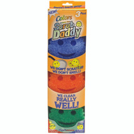 Scrub Daddy SDC3CTX12 Scrubber Foam Color 3 Pack 3 Pack