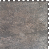 It Tile ITNS570AS50 Flexible Interlocking Vinyl Floor Tile Atlantic Slate Natural Stone Slate Texture 20 By 20 Inch 6 Per Case