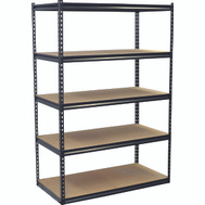 Storage Concepts SCB2505W Shelving Boltless 48Wx24dx72h