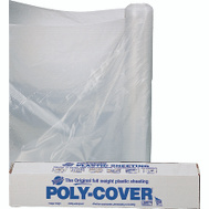 Orgill Poly 6X12-C Poly Film 6 Mil Plastic Clear Polyethylene Film 12 By 100 Foot