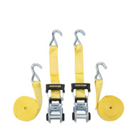 Winston Products 159 Smart Straps Tie Down 14Ft 5 000 Pound Yelow 2Pk 2 Pack