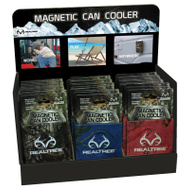 SEI Realtree Camo MCCCD1000 Cooler Can Magnetic Disp 36Pc