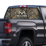 Sei/Realtree Camo RT-WF-RL-XT Film Window Graphic 20X66in