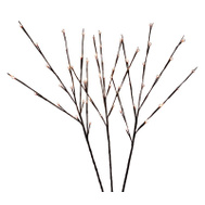 Holiday Bright Lights LED-TWIG60-WW Led Twig Stake 3Pc Warm-White