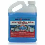 Wet & Forget 800003 1/2 Gallon Moss Mold And Mildew Stain Remover