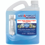 Wet & Forget 804064 64 Ounce Multi Surface Outdoor Cleaner With Hand Sprayer