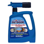Wet & Forget 805048 Cleaner Otdr W/Hose End 48 Ounce