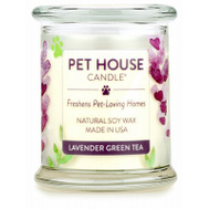 American Distribution 67313 8.5 Ounce Lavender Green Tea Candle