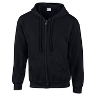 Gildan Branded Apparel Srl 244958 XL BLK Full Zip Hoody