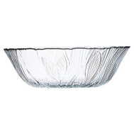 ARC International J0170 Canterbury Floral Embossed Clear All Purpose Bowl 6 Inch