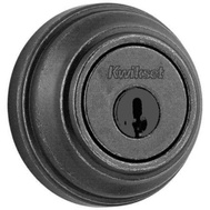 Kwikset 980 502 SMT RCAL RCS Signature Series Single Cylinder Deadbolt Smartkey Rustic Pewter ANSI Grade 1