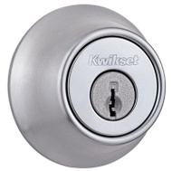 Kwikset 660 26D SMT RCAL RCS Security Single Cylinder Deadbolt Smartkey Satin Chrome