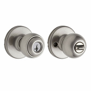 Kwikset 400P 15 SMT RCAL RCS Polo Keyed Entry Lockset Smartkey Satin Nickel