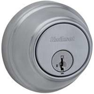 Kwikset 816 26D RCAL RCS Signature Series Single Cylinder Deadbolt Satin Chrome