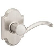 Kwikset 788AUL 15 RH Austin Right Dummy Lever Pull Satin Nickel