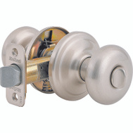 Kwikset 730J 15 CP Juno Bed And Bath Privacy Lockset Satin Nickel