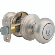 Kwikset 740J 15 SMT CP K4 Juno Keyed Entry Lockset Smartkey Satin Nickel