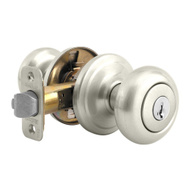Kwikset 740J 26D SMT CP Juno Keyed Entry Lockset Smartkey Satin Chrome