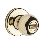 Kwikset SK3000RG 3 RCAL RCS C-5 Safe Lock Regina Bed & Bath Privacy Lockset Polished Brass