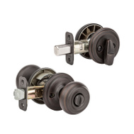 Kwikset 991PE 11P SMT CP K4 Phoenix Keyed Entry And Single Cylinder Deadbolt Smartkey Venetian Bronze