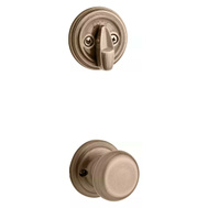 Kwikset 966H 5 BX Hancock Interior Trim Pack For Handleset Antique Brass