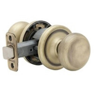 Kwikset 720H 5 6AL BX Hancock Hall And Closet Passage Lockset Antique Brass