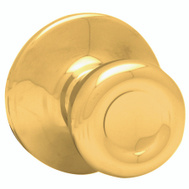 Kwikset 200T 3 CP Tylo Hall And Closet Passage Lockset Polished Brass
