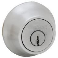 Kwikset 660 15 CP K6 Security Single Cylinder Deadbolt Satin Nickel