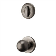 Kwikset 604P 15A Polo Interior Trim Pack For Dakota Belleview & Farmington Handleset Antique Nickel