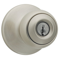 Kwikset 400P 15 RCL RCS K3 BX Polo Keyed Entry Lockset Satin Nickel