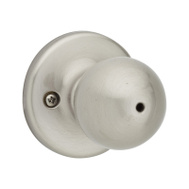Kwikset 300P 15 AL RCS BX Polo Bed And Bath Privacy Lockset Satin Nickel