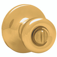 Kwikset 300T 3 RCL RCS Tylo Bed And Bath Privacy Lockset Polished Brass