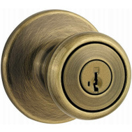 Kwikset 400T 5 SMT 6AL RCS Tylo Keyed Entry Lockset Smartkey Antique Brass