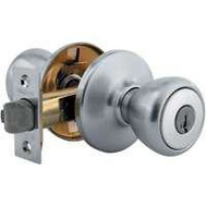 Kwikset 400T 26D 6AL RCS K3 BX Tylo Keyed Entry Lockset Satin Chrome