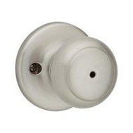 Kwikset 300CV 15 RCAL RCS Cove Bed And Bath Privacy Lockset Satin Nickel