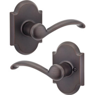 Kwikset 97200-772 Austin Hall And Closet Passage Leverset Venetian Bronze