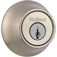 Kwikset 665 15 RCAL RCS K3 BX Security Double Cylinder Deadbolt Satin Nickel