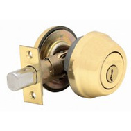 Kwikset 780 LO3 RCA L RCS K3 BX Signature Series Single Cylinder Deadbolt Lifetime Polished Brass