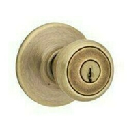 Kwikset 400T 5 RCL RCS K3 BX Tylo Keyed Entry Lockset Antique Brass