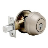 Kwikset 780 15 RCAL RCS K3 BX Signature Series Single Cylinder Deadbolt Satin Nickel