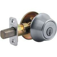 Kwikset 660 26D RCAL RC SK 3 BX Security Single Cylinder Deadbolt Satin Chrome
