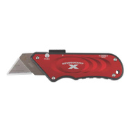 Olympia Tools 33-132 Turbo Knife Retractable Utility Knife Red