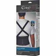 Medline ORT22200XLD Curad Back Support With Suspenders