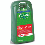 Medline CURMINIFAKRB Curad Kit First Aid Mini 15Pc