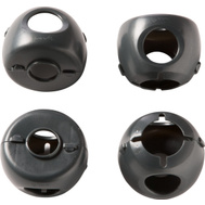Safety 1st Dorel HS325 Cover Door Knob Grip-N-Twist 4 Pack