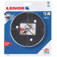 Lenox 1772077 Speed Slot 5 Inch Bi-Metal Hole Saw