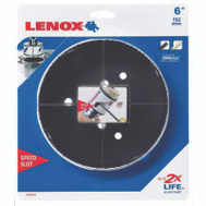 Lenox 1772121 Speed Slot 6 Inch Bi-Metal Hole Saw